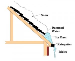 Ice Dams Michigan